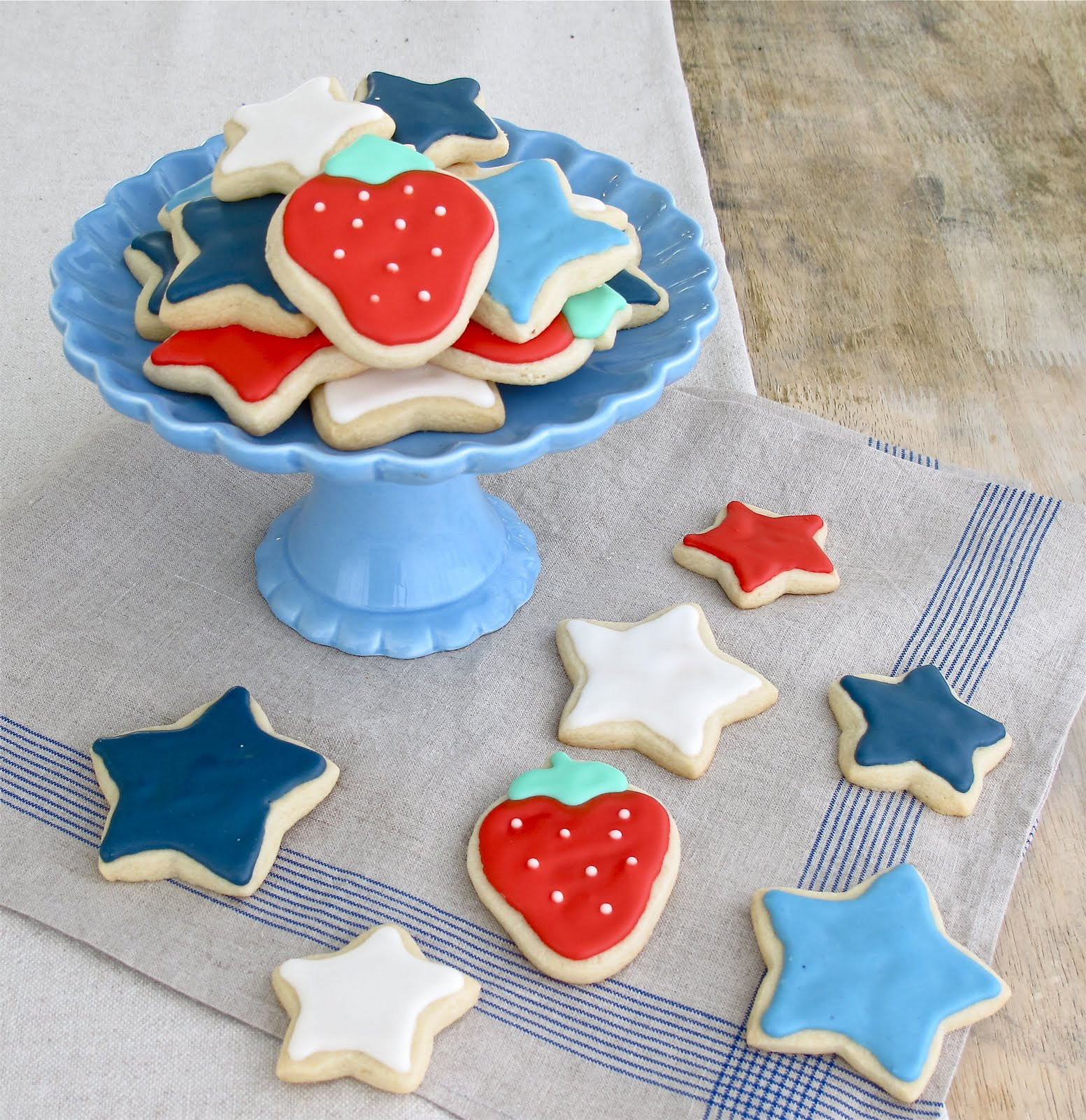 Fourth Of July Sugar Cookies  Jenny Steffens Hobick Fourth of July Party Decorations