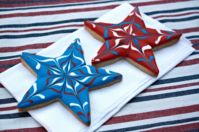 Fourth Of July Sugar Cookies  Fourth of July Decorated Sugar Cookies Peanut Butter and