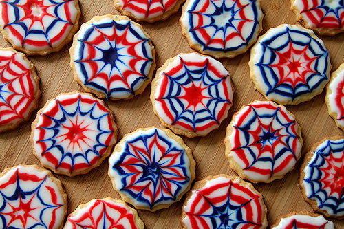 Fourth Of July Sugar Cookies  Fourth of July Fireworks Cookies – A Cup of Sugar … A