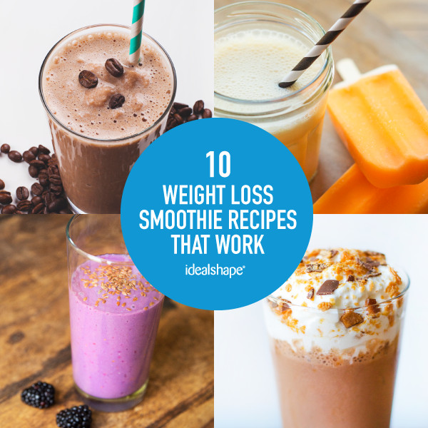 Free Healthy Smoothie Recipes For Weight Loss  10 Smoothie Recipes Weight Loss That Actually Work