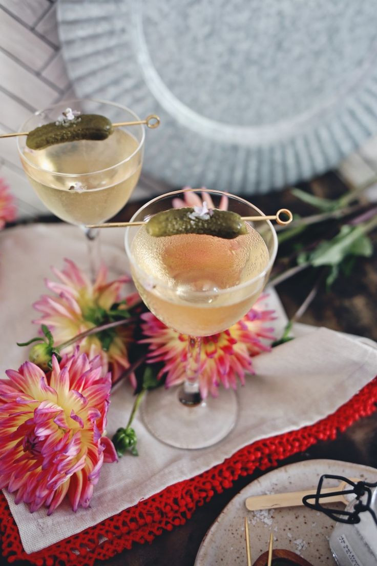 French Summer Recipes  Check out Savory French Summer Cocktail It s so easy to