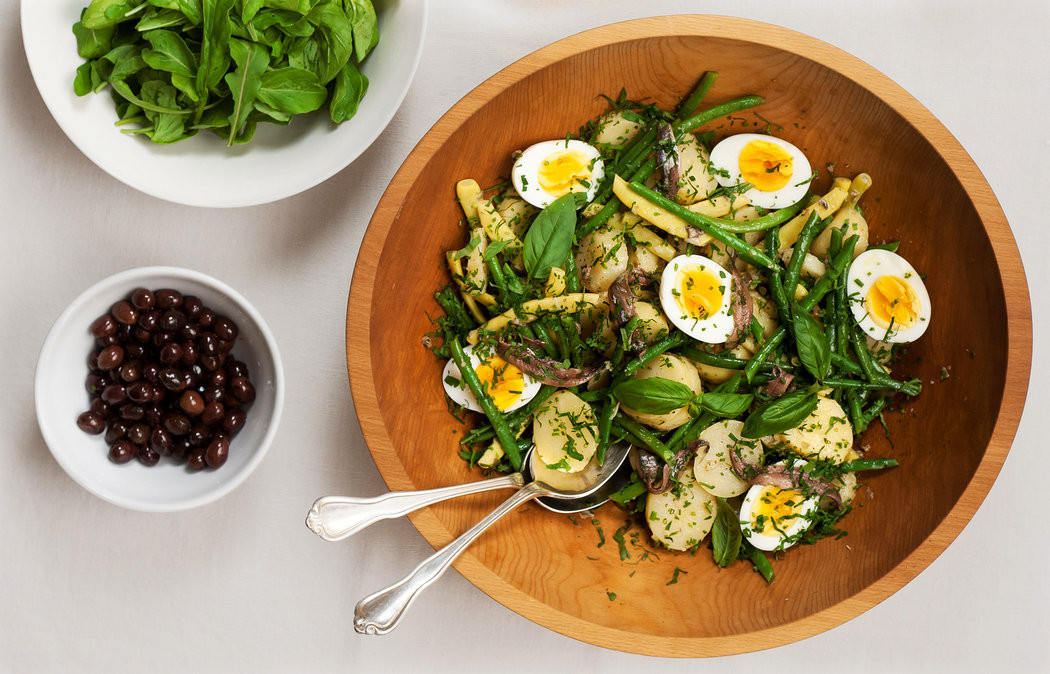 French Summer Recipes  A Summer Salad in the French Style — City Kitchen The