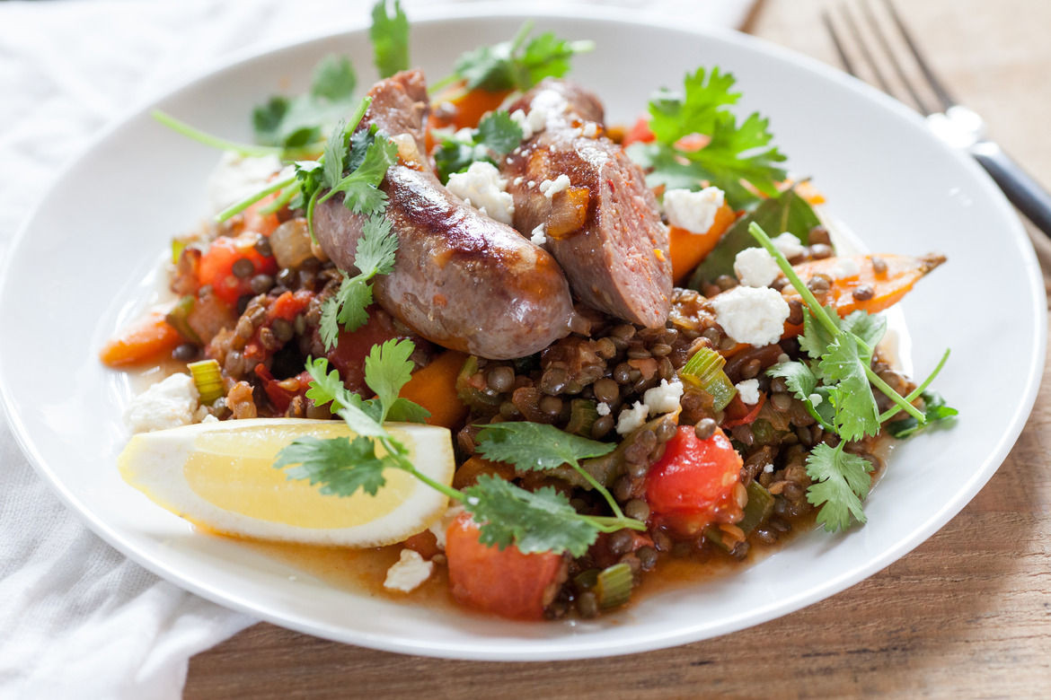 French Summer Recipes the Best Ideas for Recipe French Lentils with Sautéed Summer Ve Ables