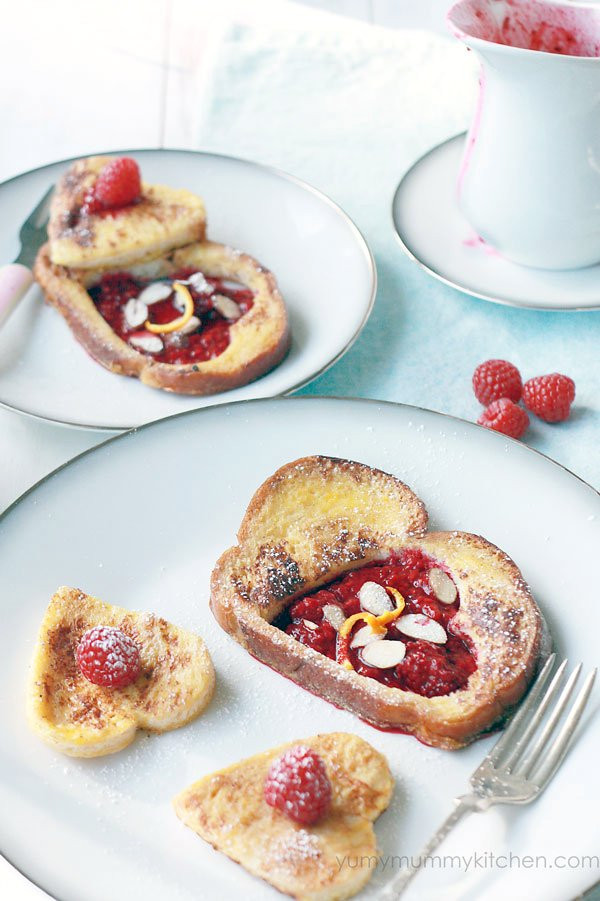 French Toast Healthy  French Toast with Stewed Berries Yummy Mummy Kitchen