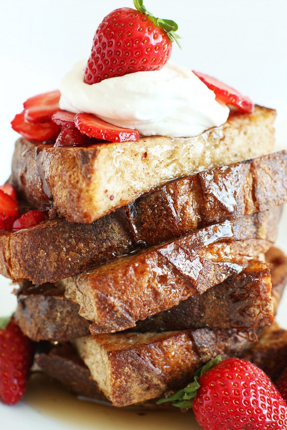 French Toast Healthy  French Toast Recipes That Are Healthy