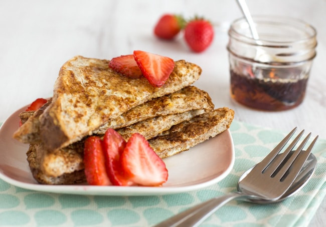 French Toast Healthy  Healthier French toast Amuse Your Bouche