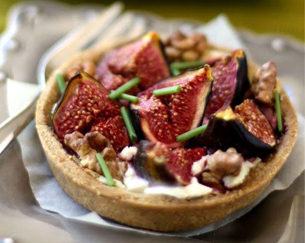 Fresh Fig Recipes Healthy  Fig Tart Recipe – Fresh Fig Pie Recipe – Fig and Goat