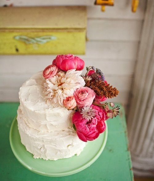 Fresh Flowers On Wedding Cakes  Wedding Celebrations Amazing Unique Wedding Cakes