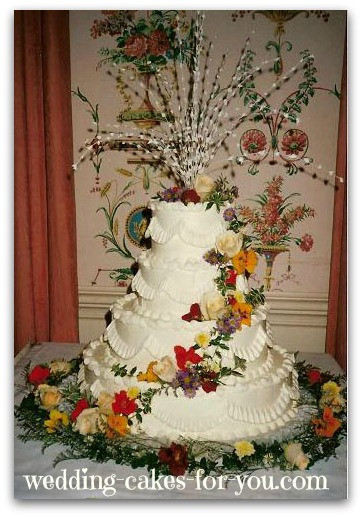 Fresh Flowers On Wedding Cakes  Wedding Cakes With Fresh Flowers are Naturally Breathtaking
