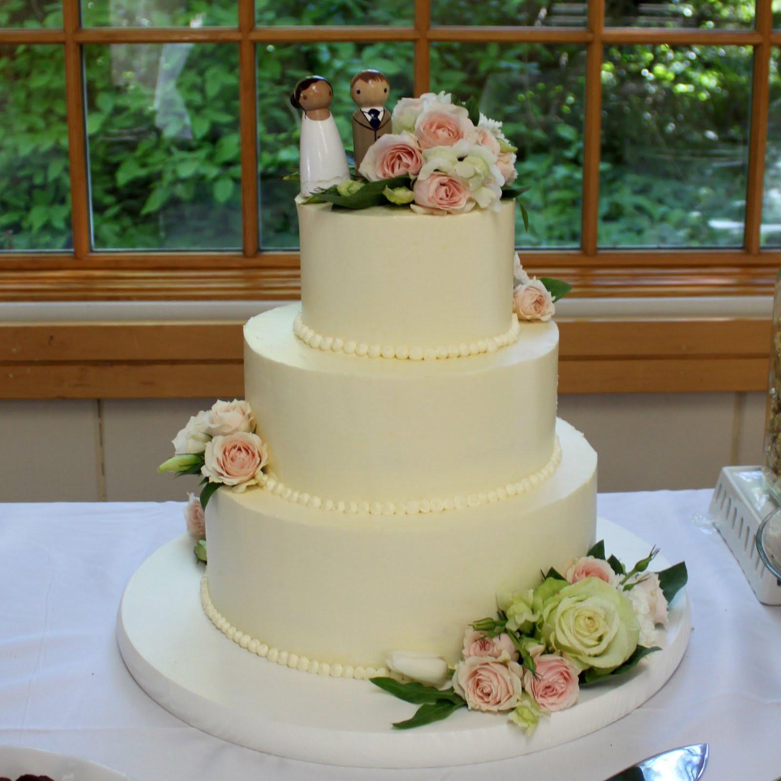 Fresh Flowers On Wedding Cakes  Memorable Birthday Cake Flower Arrangement Flower