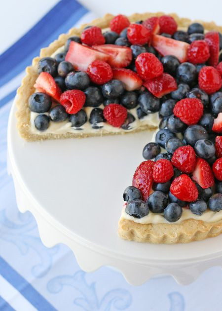 Fresh Fruit Desserts For Summer  Cream Cheese and Fourth of July on Pinterest