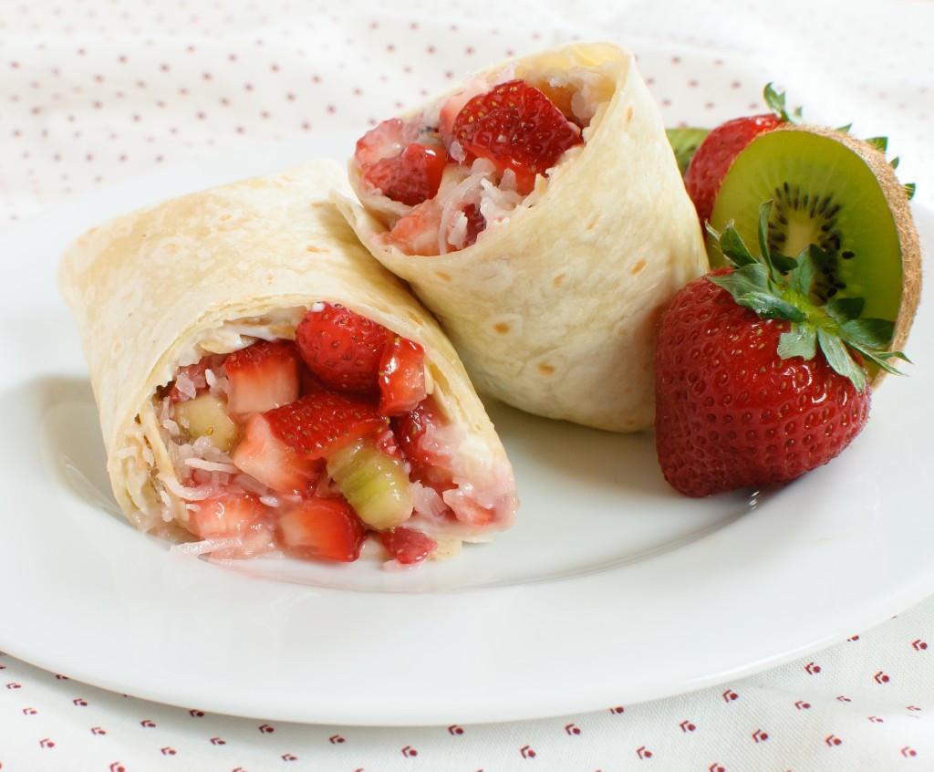 Fresh Fruit Desserts For Summer  Summer Fruit Dessert Burritos Baked In