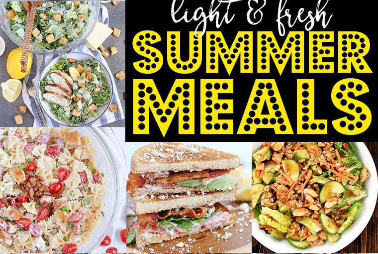 Fresh Summer Dinners  family friendly meals Archives Yellow Bliss Road