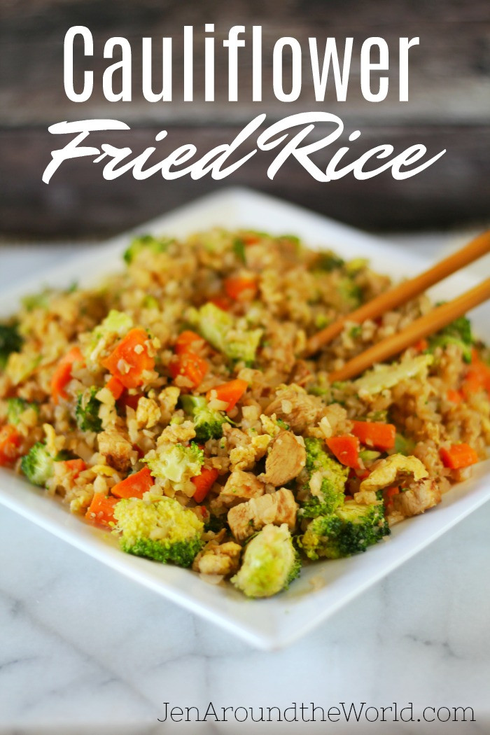 Fried Rice Healthy  cauliflower fried rice healthy