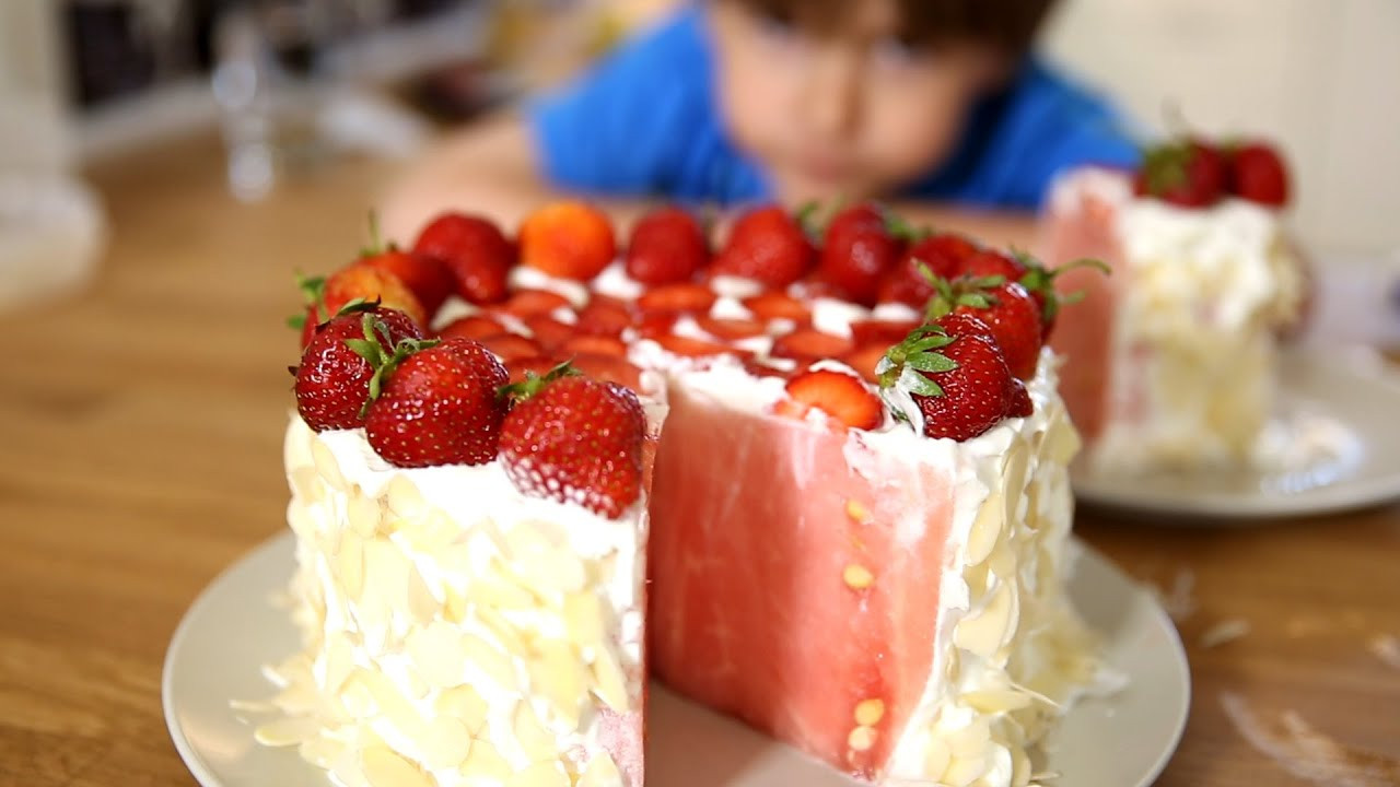 Fruit Desserts Healthy  Healthy Fruit Dessert for Hot Summer Kids Love This