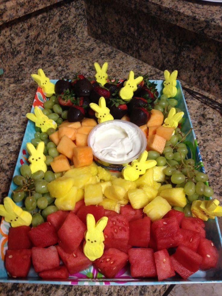 Fruit Salad For Easter Dinner  The 25 best Easter bunny fruit tray ideas on Pinterest