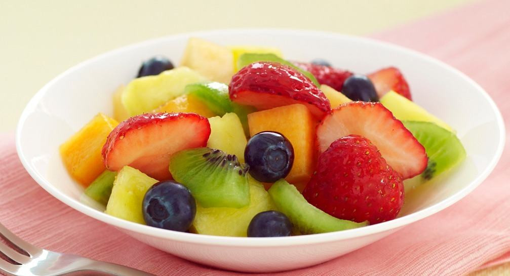 Fruit Salads For Easter Dinner  Easter Buffet with McCormick Spices Vanilla Fruit Salad