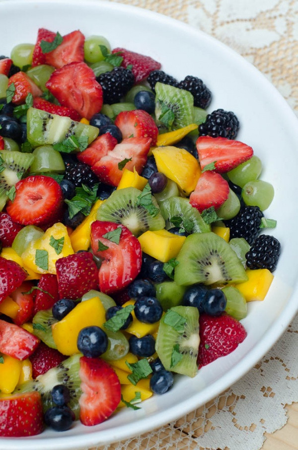 Fruit Salads For Easter Dinner  Fruit Salad with Sweet Lime Dressing