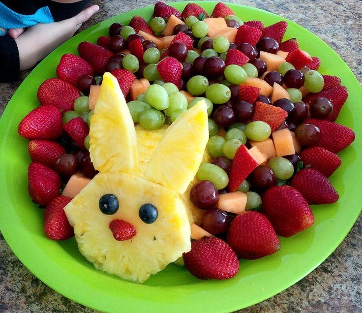 Fruit Salads For Easter Dinner  The 25 best Easter bunny fruit tray ideas on Pinterest
