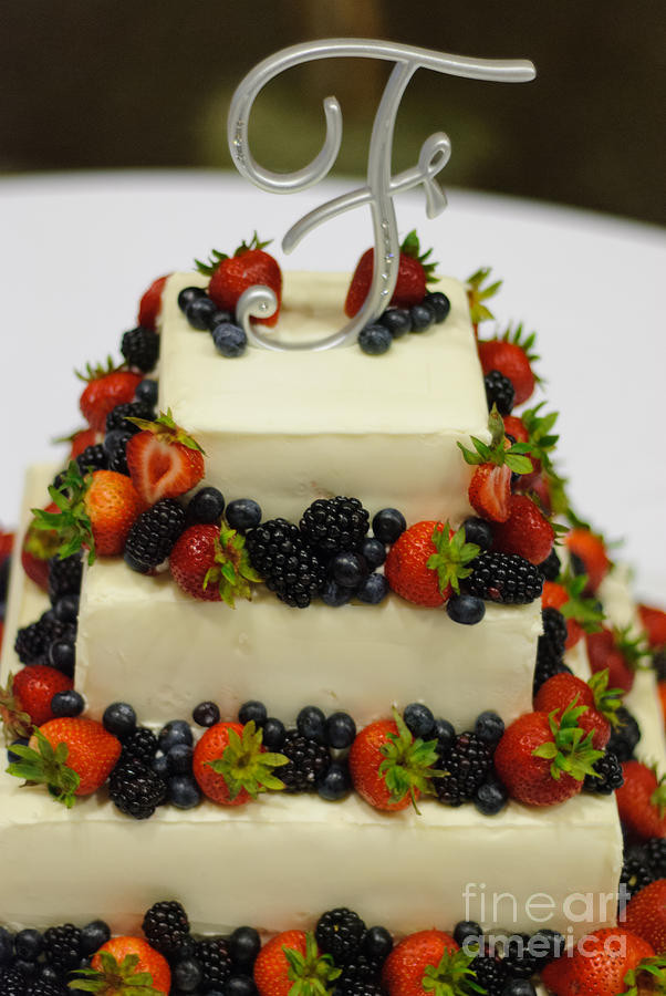 Fruity Wedding Cakes  Wedding Cake With Fruit graph by Paul Sisco