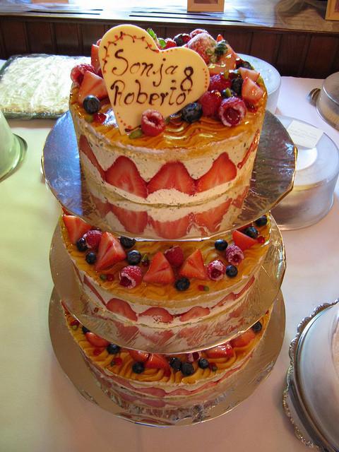 Fruity Wedding Cakes  fruit wedding cakes