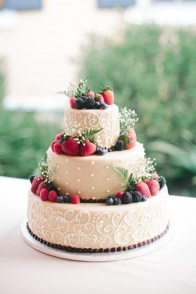 Fruity Wedding Cakes  Best Fruit Wedding Cake ideas on Pinterest