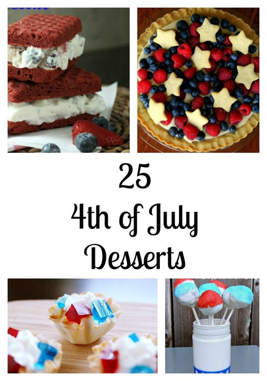 Fun 4Th Of July Desserts  Fourth of July Archives MomStart
