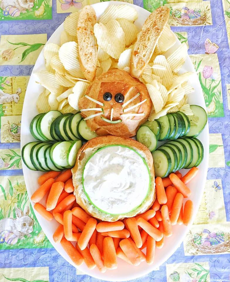 Fun Easter Appetizers  The Cutest Easter Bunny Appetizer The Funny Mom Blog