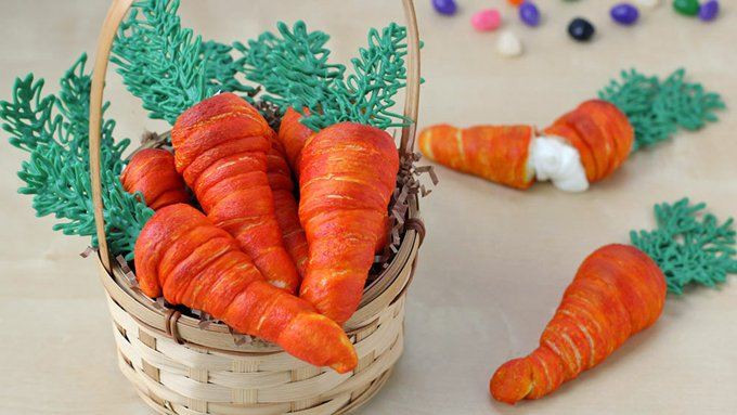 Fun Easter Appetizers  Crescent Carrot Appetizers recipe from Tablespoon