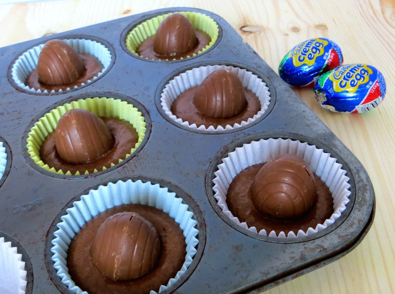 Fun Easter Desserts  Easter Dessert Idea Cadbury Creme Egg Cupcakes Recipe