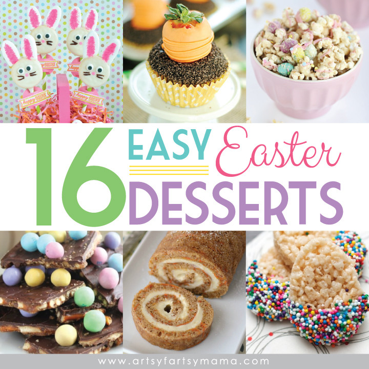 Fun Easy Easter Desserts  16 Easy Easter Desserts