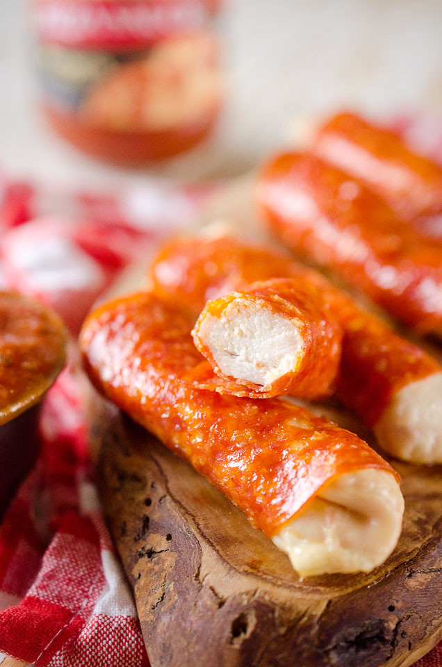 Fun Healthy Appetizers  Pepperoni Chicken Fingers