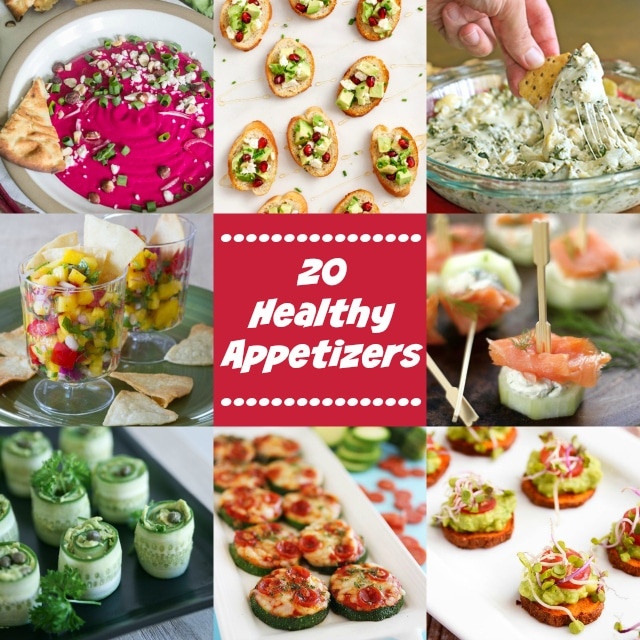 Fun Healthy Appetizers  20 Healthy Appetizers for the Perfect Party Kim s Cravings