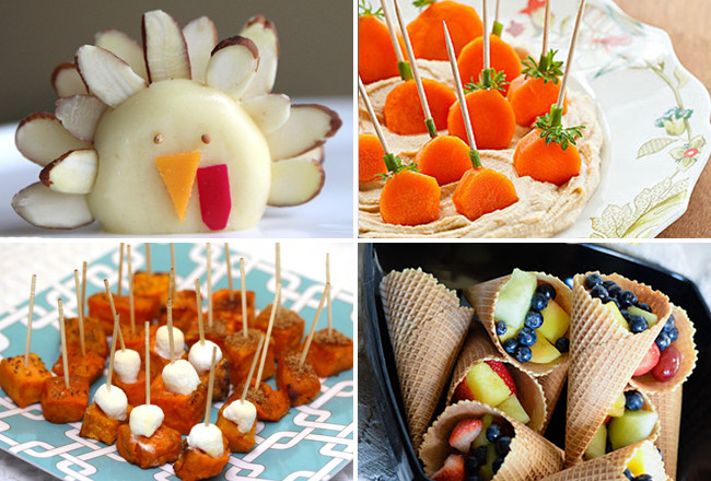 Fun Healthy Appetizers  Healthy Thanksgiving Appetizers That You And The Kids Will