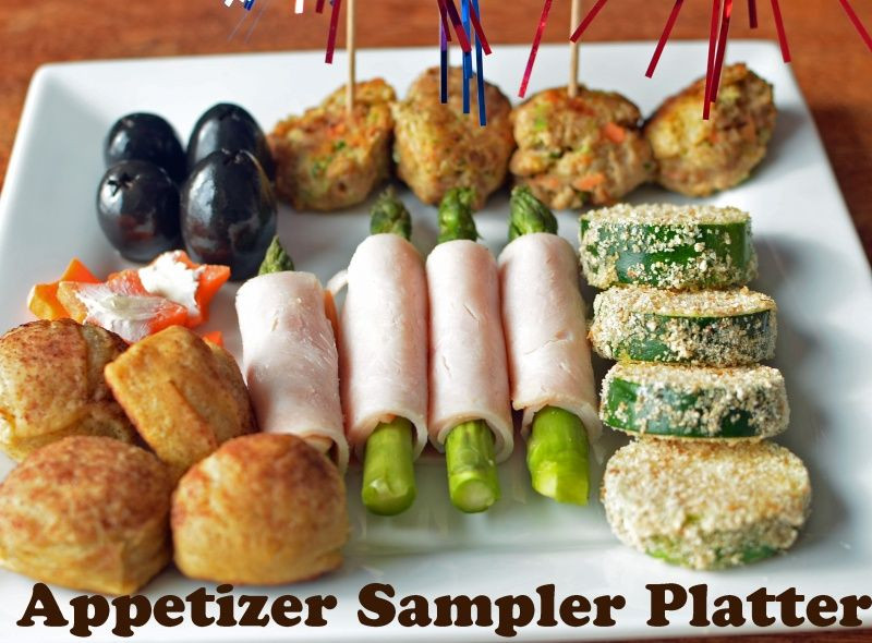 Fun Healthy Appetizers  Appetizer Sample Platter with Turkey Power Balls