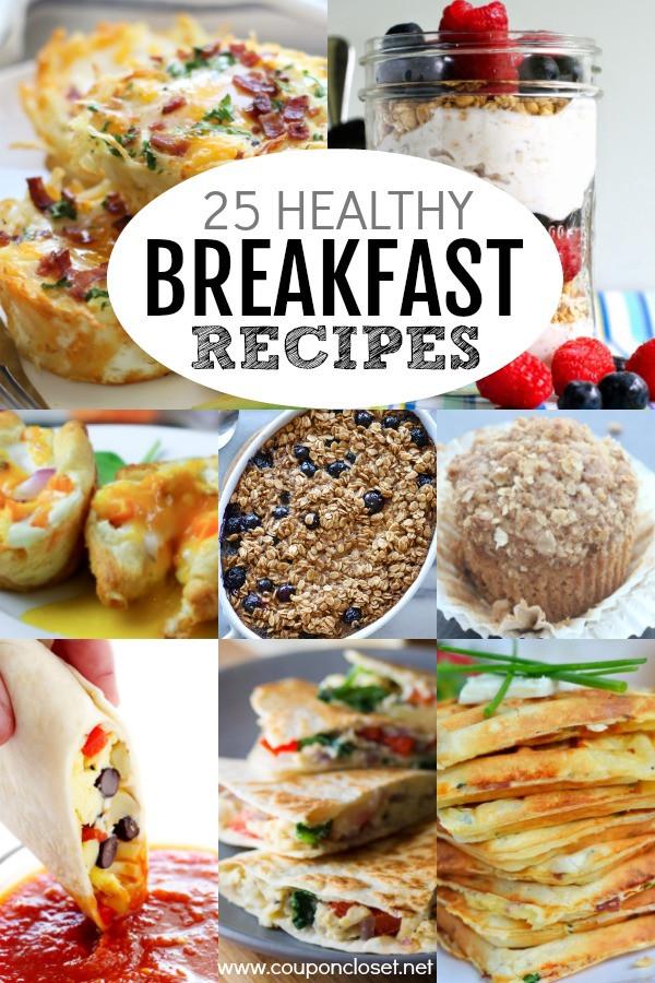 Fun Healthy Breakfast Ideas  Healthy Breakfast Ideas 25 Healthy Breakfast Recipes