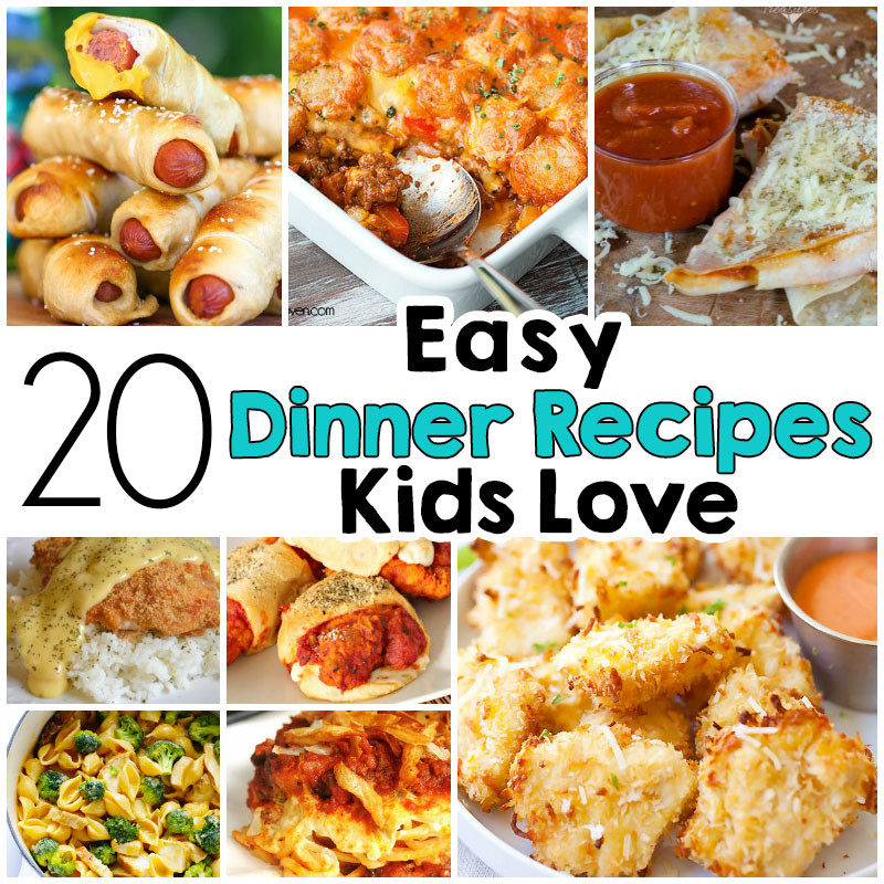 Fun Healthy Dinners For Kids  20 Easy Dinner Recipes That Kids Love I Heart Arts n Crafts