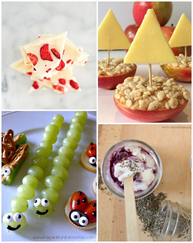 Fun Healthy Snacks For Kids  Healthy Snacks for Kids The Imagination Tree