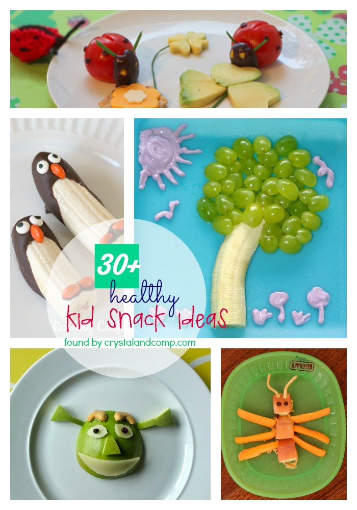 Fun Healthy Snacks  kids snack ideas