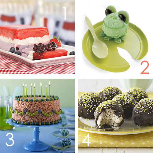 Fun Summer Desserts  No Bake Cooking Ideas for Entertaining Kids
