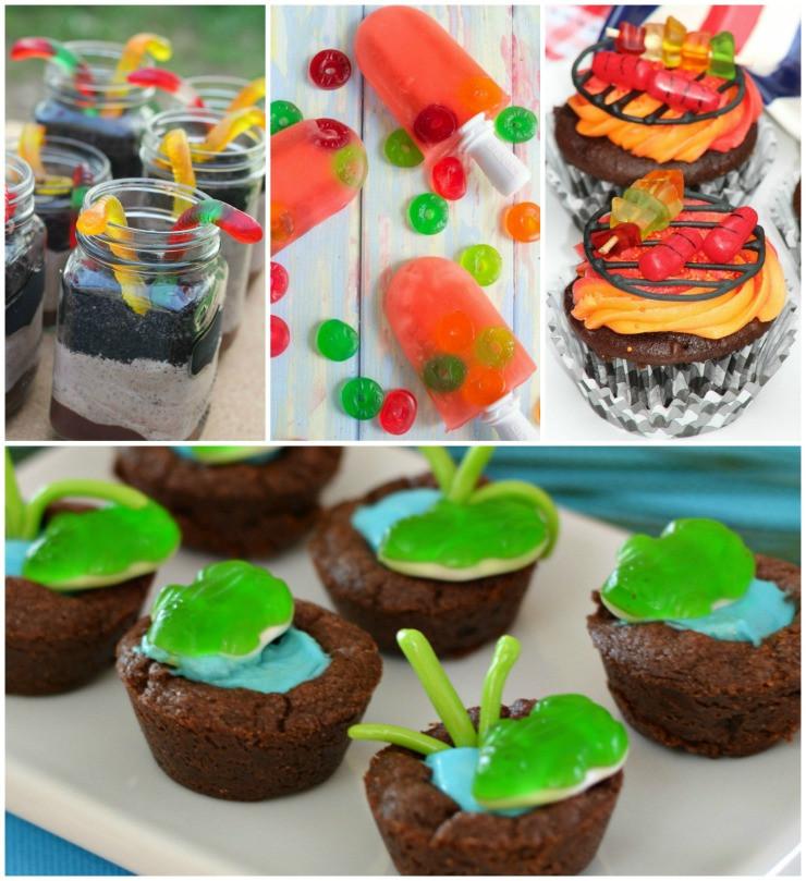 Fun Summer Desserts  Gummy Candy Desserts Your Kids Will Love