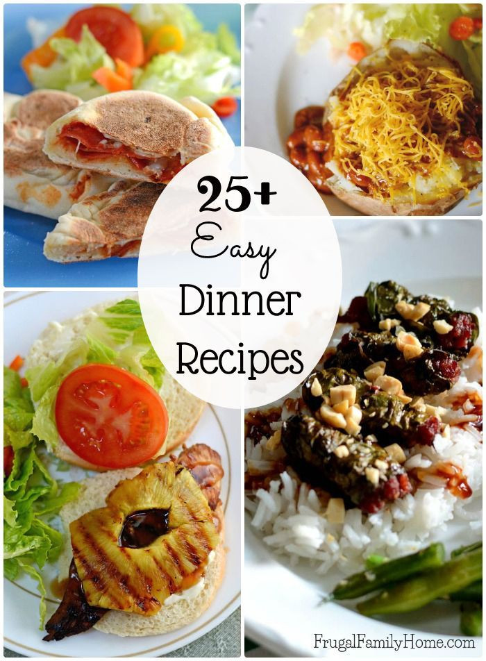 Fun Summer Dinners  232 best Frugal Recipes images on Pinterest