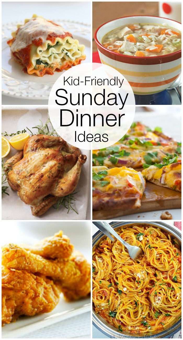 Fun Summer Dinners  Kid Friendly Sunday Night Dinner Ideas