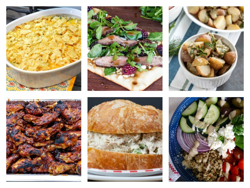 Fun Summer Dinners  Easy Summer Dinner Ideas Merry Monday 156 two purple