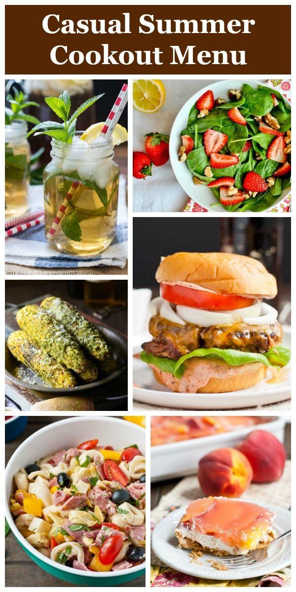 Fun Summer Dinners  Best 25 Summer dinner party menu ideas on Pinterest