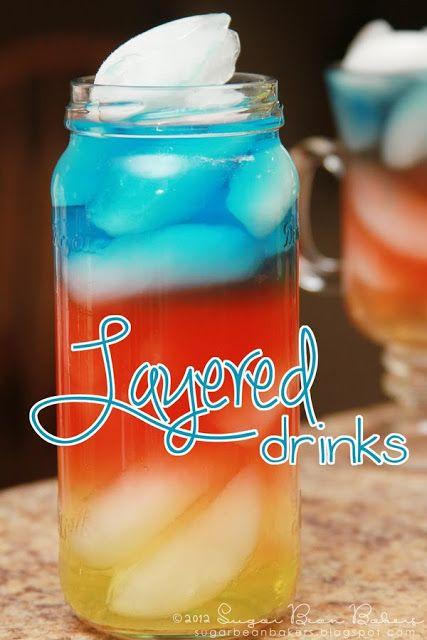 Fun Summer Vodka Drinks  25 best ideas about Layered Drinks on Pinterest