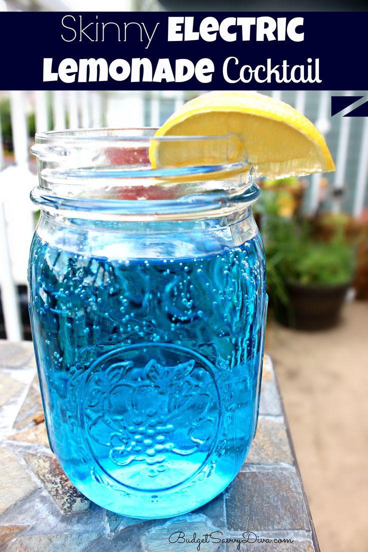 Fun Summer Vodka Drinks  Best 25 Electric lemonade ideas on Pinterest