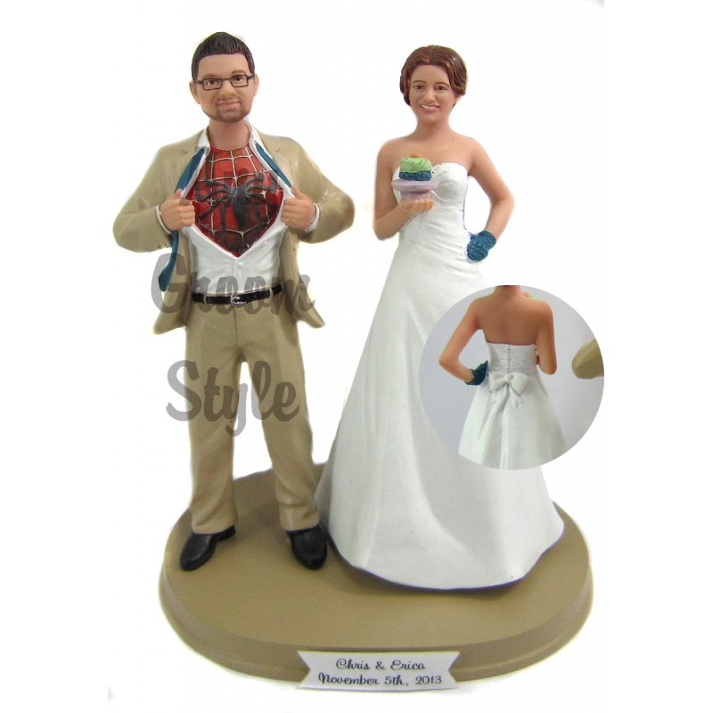 Funny Cake Toppers For Wedding Cakes  Funny cake toppers wedding idea in 2017