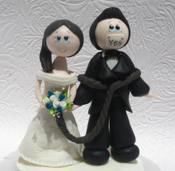 Funny Cake Toppers For Wedding Cakes  Funny wedding cake topper funny cake topper funny by