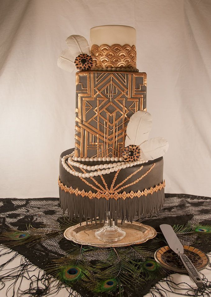 Gatsby Wedding Cakes  2014 The Year of The Great Gatsby Themed Wedding